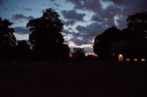 Evening on the island