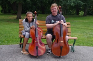Class photo - Cello